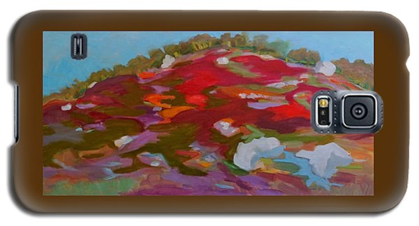 Schoodic Trail Blueberry Hill Galaxy S5 Case by Francine Frank