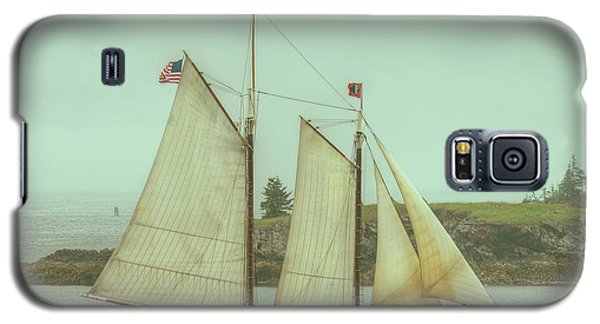 Schooner Stephen Taber Galaxy S5 Case by Jeff Cook