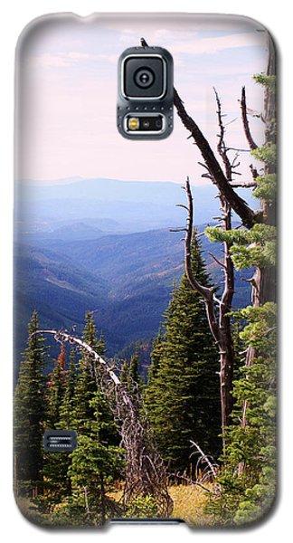 Schweitzer Mountain 1 Galaxy S5 Case by Ellen Tully