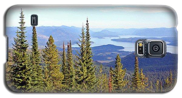 Schweitzer Mountain 7 Galaxy S5 Case by Ellen Tully