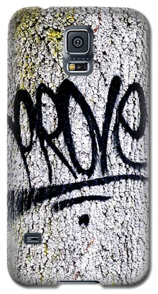 Scientific Graffiti  Galaxy S5 Case by Steve Taylor