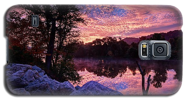 Galaxy S5 Case featuring the photograph Scioto Sunrise by Jaki Miller