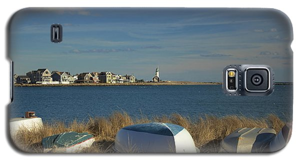 Scituate Harbor Boats Galaxy S5 Case by Amazing Jules