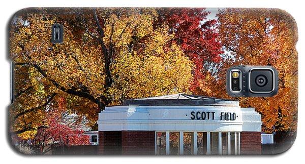 Scott Field  Old Main Gate  Galaxy S5 Case by John Freidenberg