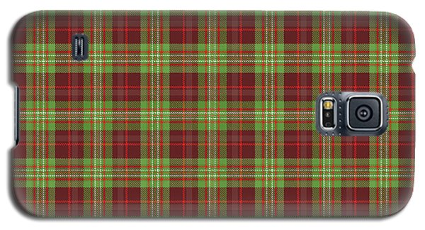 Galaxy S5 Case featuring the digital art Scott Hunting Green Tartan Variant by Gregory Scott