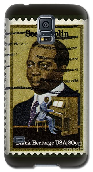 Scott Joplin Stamp Galaxy S5 Case