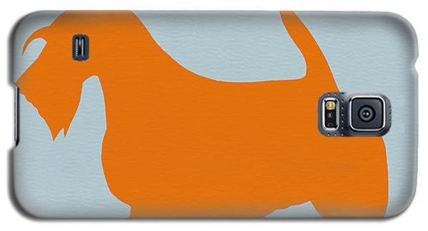 Dog Galaxy S5 Case - Scottish Terrier Orange by Naxart Studio