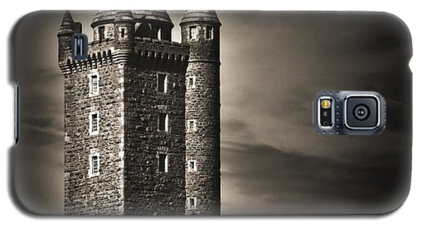 Galaxy S5 Case featuring the photograph Scrabo Tower Newtownards County Down by Jane McIlroy