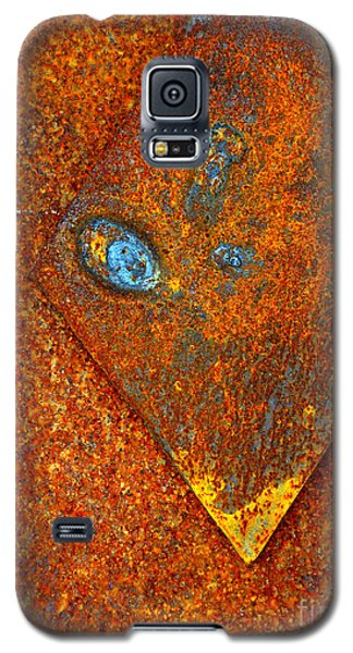 Galaxy S5 Case featuring the photograph Scrap Iron by Robert Riordan