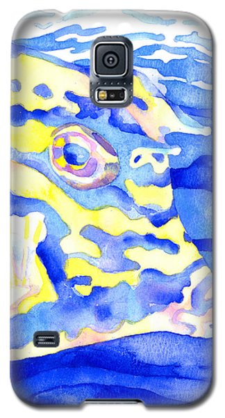 Scrawled Cowfish Portrait Galaxy S5 Case