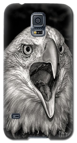 Galaxy S5 Case featuring the photograph Screamin Eagle by Adam Olsen