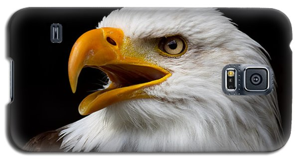 Screaming Bald Eagle Galaxy S5 Case