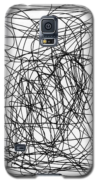 Scribble For M.l.b. Here I Come Galaxy S5 Case