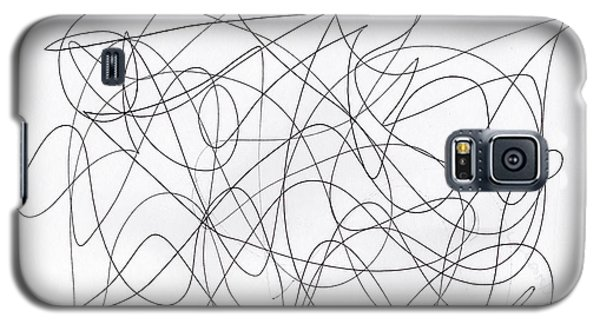 Scribble For 'running Errands' Galaxy S5 Case