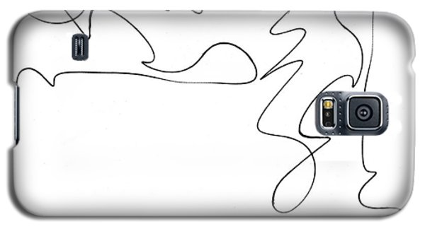 Scribble For There's No Turning Back Now Galaxy S5 Case