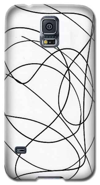 Scribble For Up On The Hill At Barton Springs Galaxy S5 Case