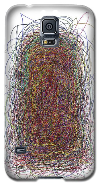 Scribble Galaxy S5 Case