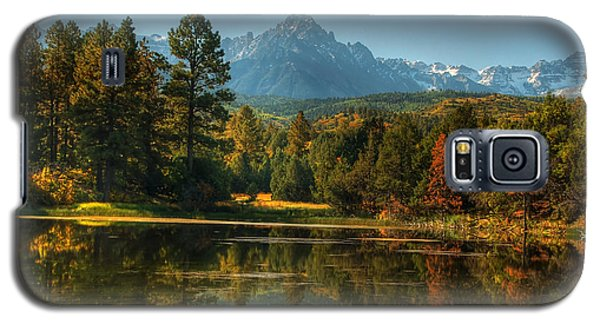 Scripture And Picture Psalm 23 Galaxy S5 Case