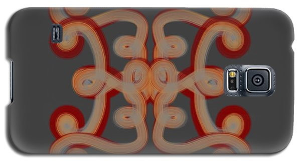 Galaxy S5 Case featuring the digital art Scroll by Christine Fournier