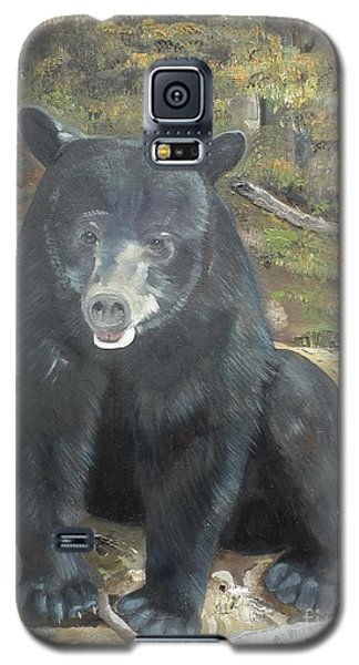 Galaxy S5 Case featuring the painting Scruffy Again by Jan Dappen