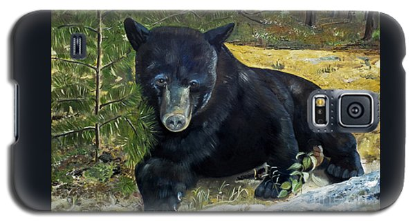 Scruffy - Black Bear - Unsigned Galaxy S5 Case
