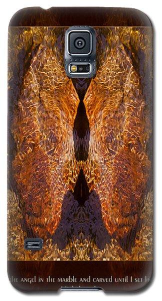 Sculpting An Angel Galaxy S5 Case