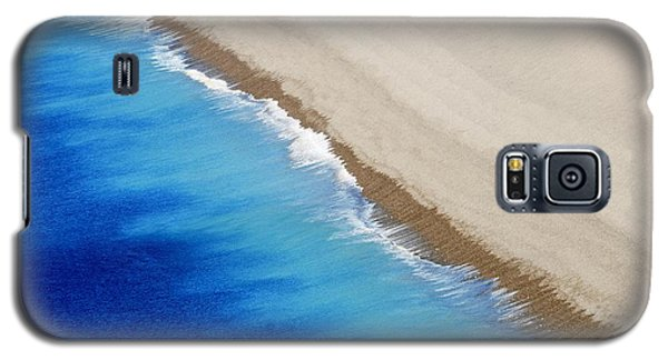 Galaxy S5 Case featuring the photograph Sea And Sand by Wendy Wilton