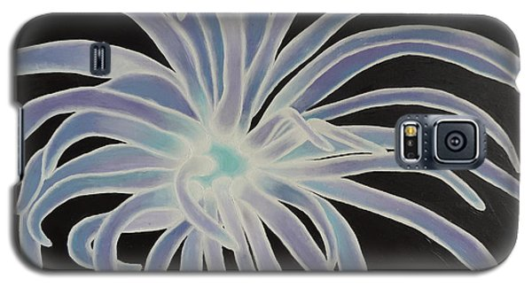Galaxy S5 Case featuring the painting Sea Anemone by Dianna Lewis