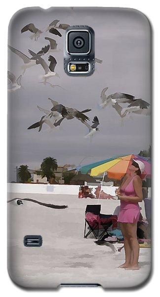 Sea Birds Galaxy S5 Case