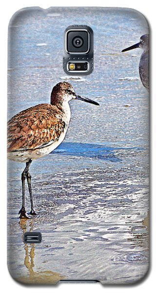 Galaxy S5 Case featuring the photograph Sea Birds No.4 by Melissa Sherbon