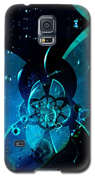 Galaxy S5 Case featuring the painting Sea City Iphone Case by Robert Kernodle
