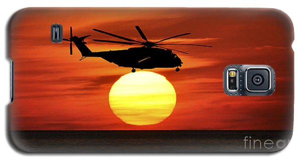 Sea Dragon Sunset Galaxy S5 Case