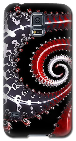 Galaxy S5 Case featuring the digital art Sea Dragon by Susan Maxwell Schmidt