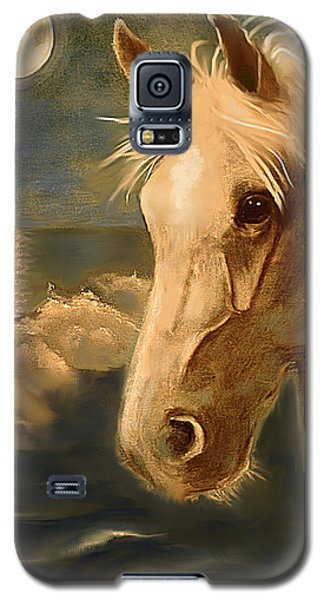 Galaxy S5 Case featuring the painting Sea Dream by Terry Webb Harshman