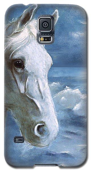 Sea Dreams In Blue Galaxy S5 Case