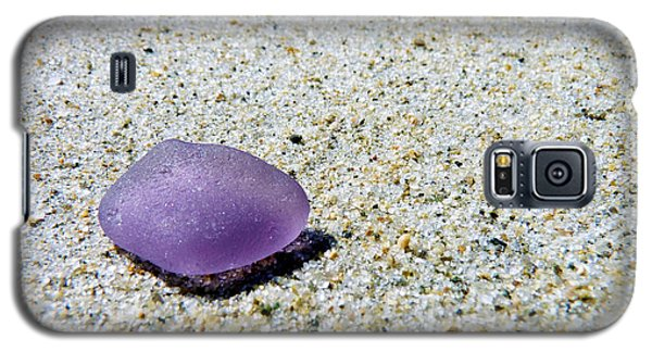 Sea Glass In Amethyst Galaxy S5 Case