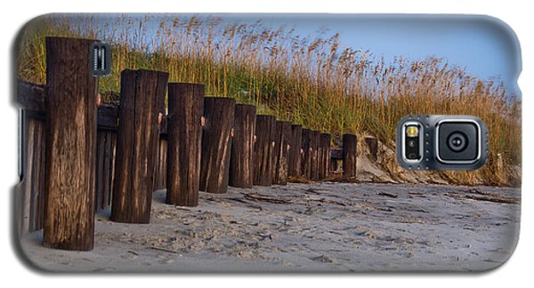 Sea Oats And Pilings Galaxy S5 Case