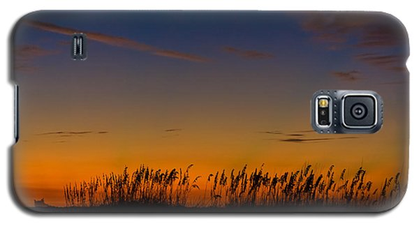 Sea Oats At Twilight Galaxy S5 Case