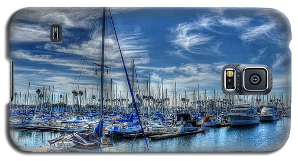Galaxy S5 Case featuring the photograph Sea Of Blue by Kevin Ashley