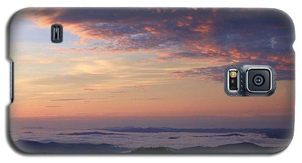 Sea Of Clouds Blue Ridge Mountains Galaxy S5 Case