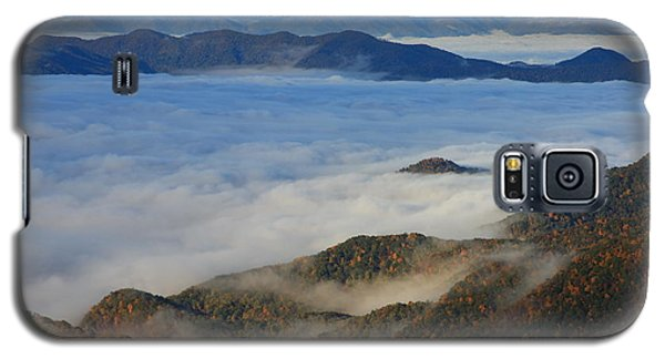 Sea Of Clouds In The Courthouse Valley-blue Ridge Parkway Galaxy S5 Case