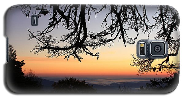 Sea Of Clouds On The Blue Ridge Galaxy S5 Case