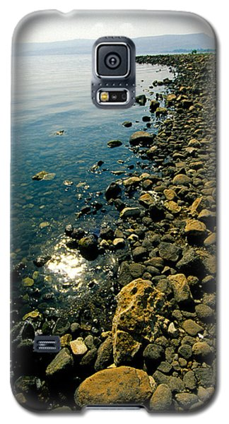 Sea Of Galilee Shore Galaxy S5 Case by Dennis Cox WorldViews