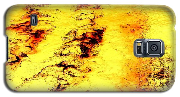 Sea Of Yellow Galaxy S5 Case