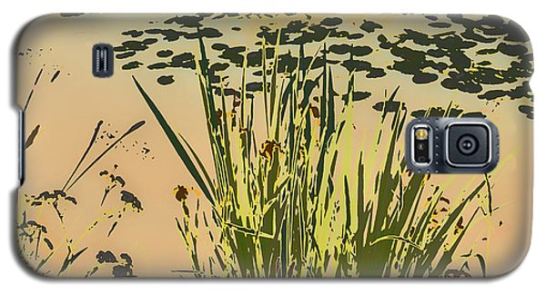 Galaxy S5 Case featuring the photograph Sea Plants Abstract by Leif Sohlman