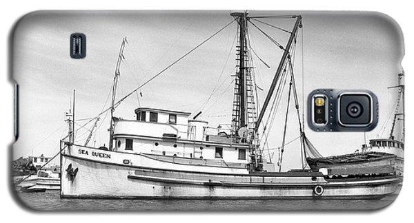 Purse Seiner Sea Queen Monterey Harbor California Fishing Boat Purse Seiner Galaxy S5 Case by California Views Mr Pat Hathaway Archives