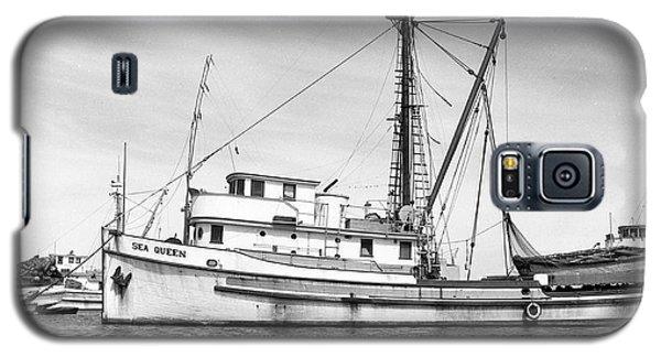 Purse Seiner Sea Queen Monterey Harbor California Fishing Boat Purse Seiner Galaxy S5 Case
