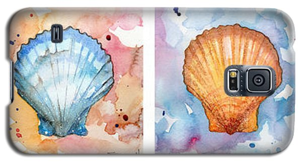 Sea Shells In Contrast Galaxy S5 Case