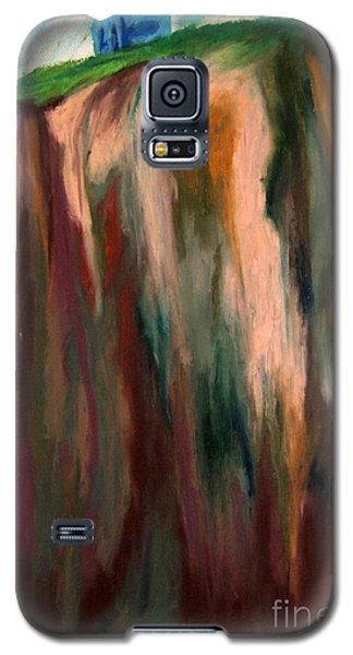 Sea Side Mountain Cliff Galaxy S5 Case