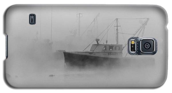 Sea Smoke Jonesport Maine  Galaxy S5 Case by Trace Kittrell